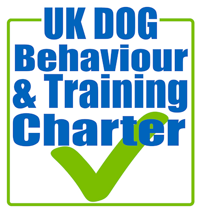 UK Dog Behaviour & Charter tick logo